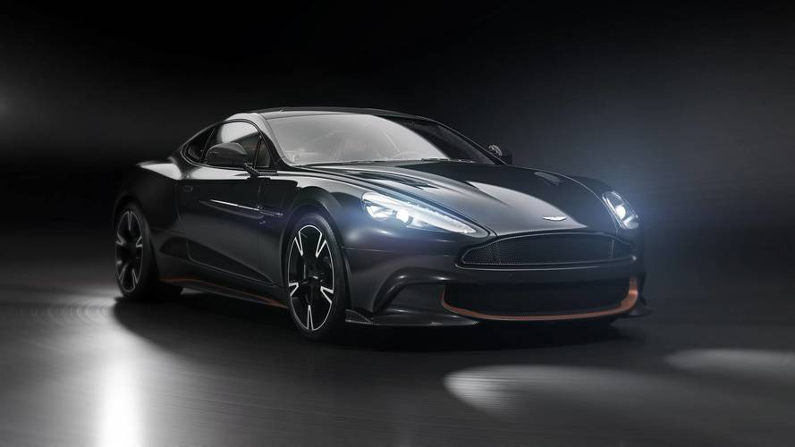 Aston Martin Vanquish S Ultimate is the current car's goodbye