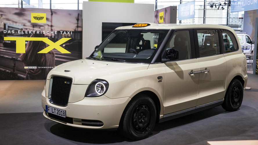 New London taxi shown in final form ahead of November sales start