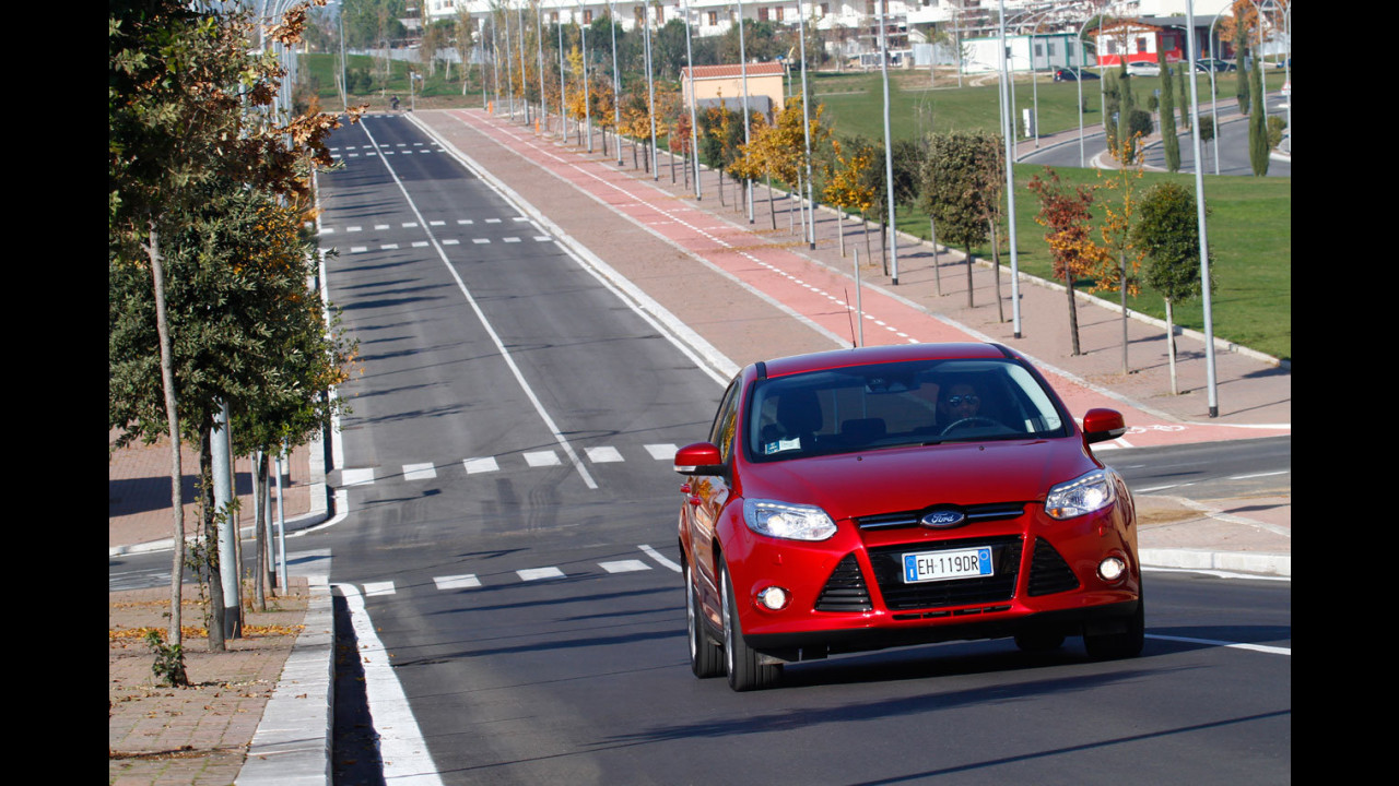 Ford Focus 1.6 150 CV EcoBoost Titanium - Il Test