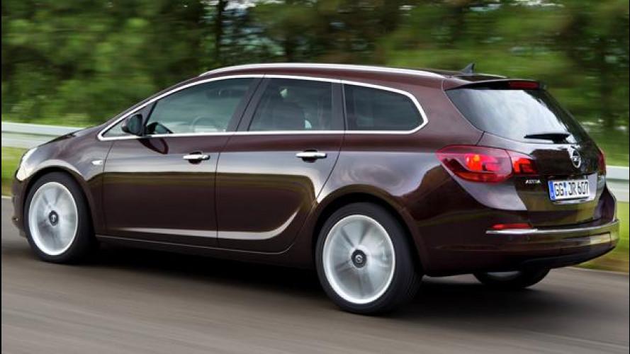Opel Astra CDTI BiTurbo 2.0, con 195 CV è l'Astra Diesel più potente di sempre