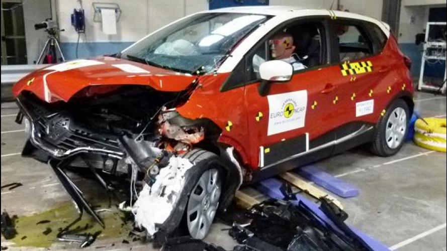 Euro NCAP: 5 stelle per Captur e Trax, 4 per Sandero e 3 per Evalia