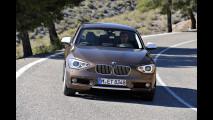 Nuova BMW Serie 1 tre porte