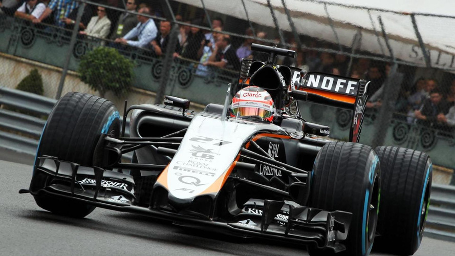 Force India 'B' car failed crash test - report