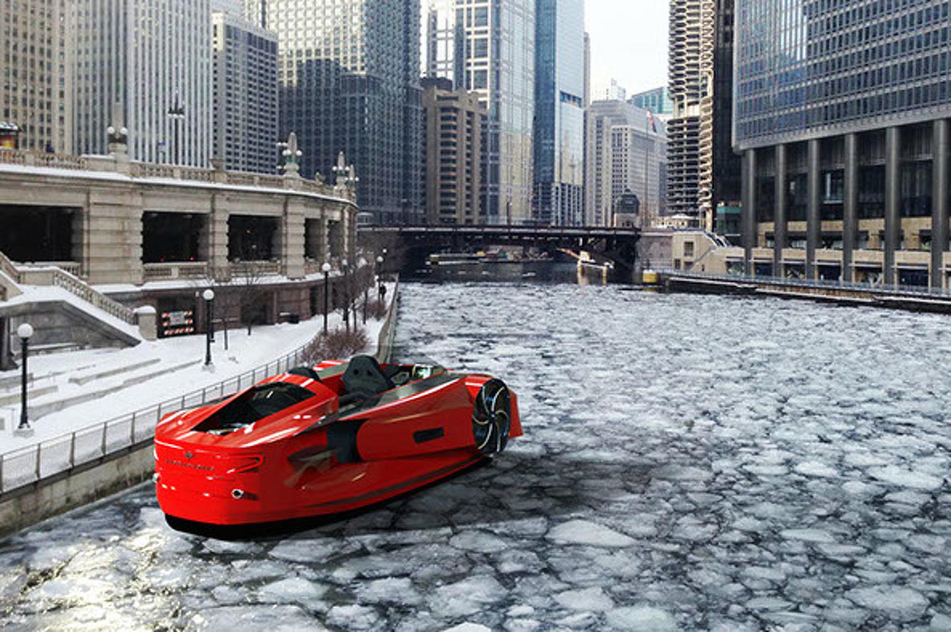 Chicago-Based Mercier-Jones Unveils an Everyday Hovercraft