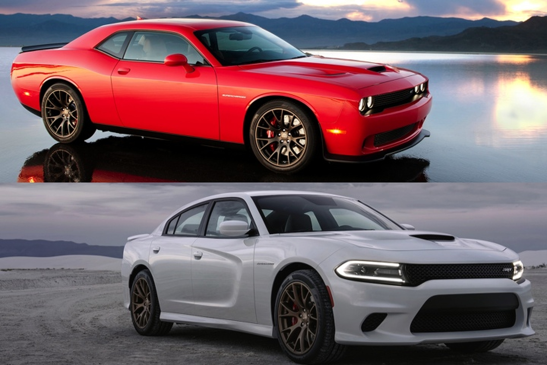 Challenger Vs Charger >> Dodge Charger Hellcat Vs Challenger Hellcat Which Would You