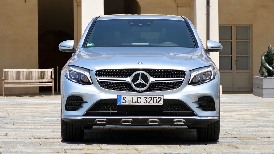 First drive 2017 mercedes benz glc300 coupe for How much is a mercedes benz 2017
