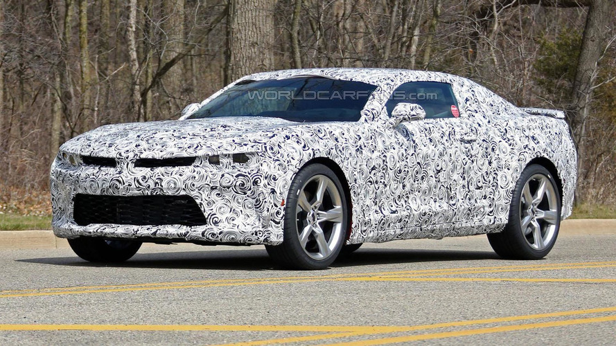 2016 Chevrolet Camaro spied as the company highlights its Drive Mode Selector