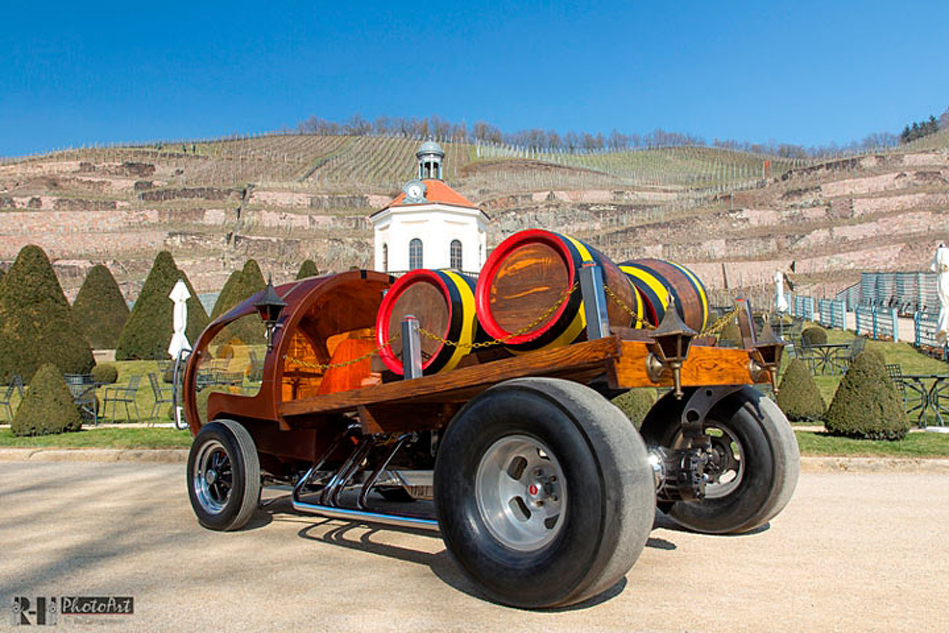 Motor City Auto Auction >> Oh Yes, This Hot Rod is Made of Wine Barrels