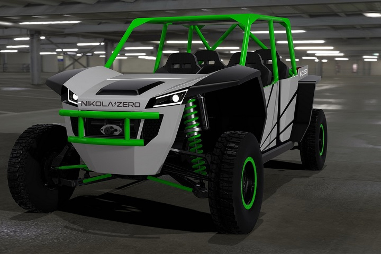 Nikola Motor is Building a 520-HP Electric  UTV