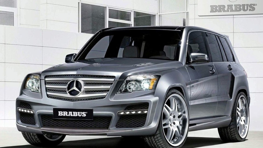Mercedes-Benz Previews Four Tuned GLK SUVs for SEMA 2008