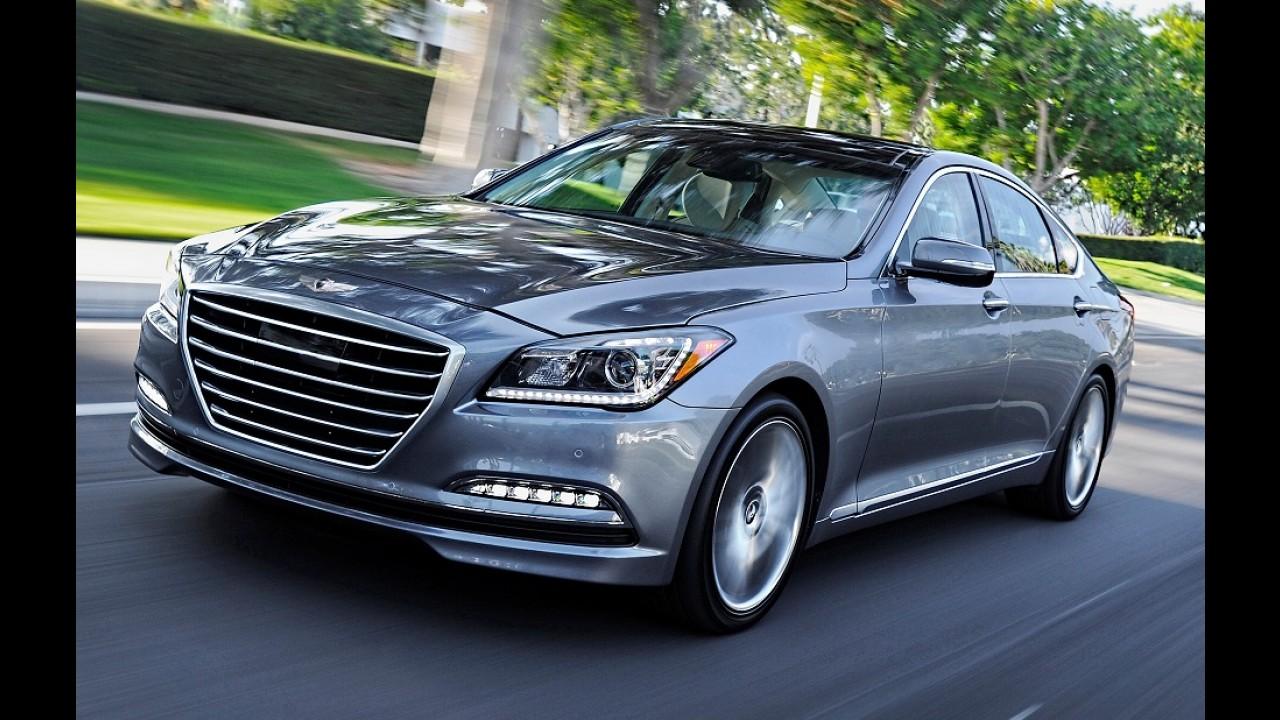 Hyundai considera SUV baseado no Genesis para o lugar do Veracruz