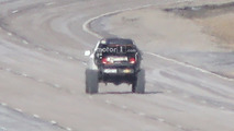 Chevy Colorado ZR2-based SUV mule spy photo