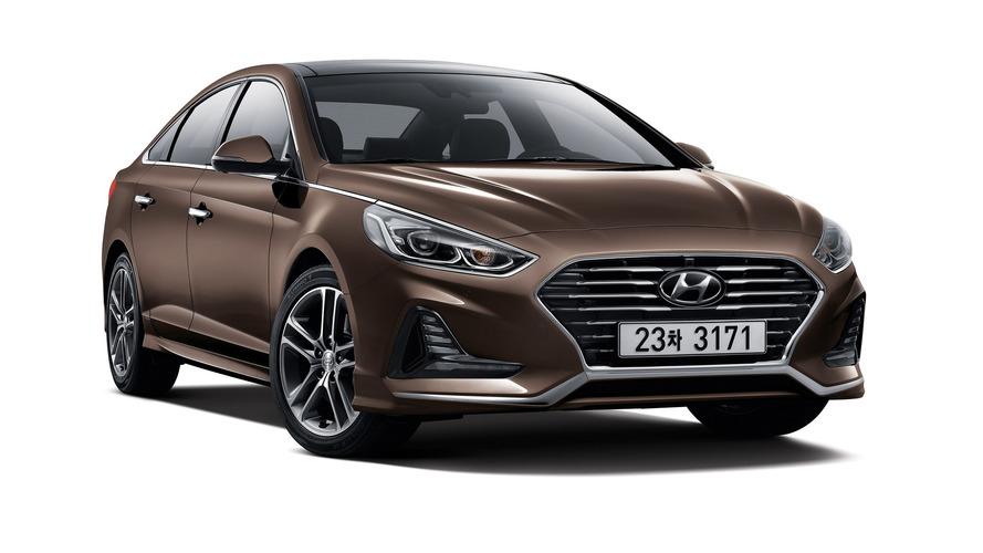 2017 Hyundai Sonata facelift