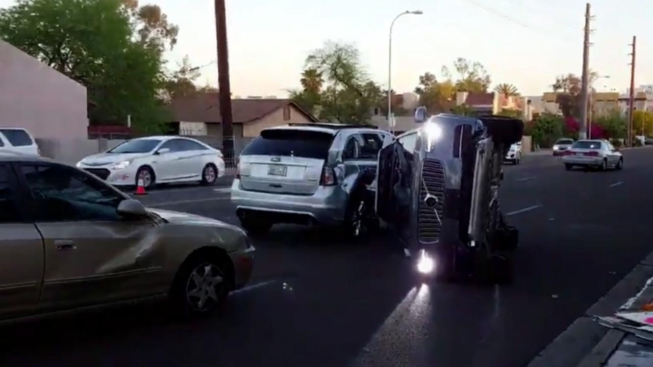 Uber's Volvo XC90 kazası