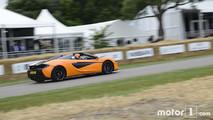 2017 - McLaren 570 S Spider à Goodwood