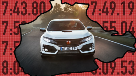 The Honda Civic Type R Outruns These 10 Cars At The 'Ring