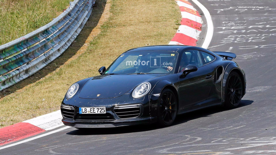 Next Porsche 911 Turbo Spied Looking Wide On Nurburgring