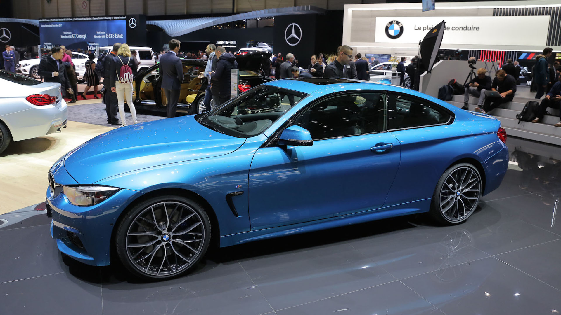2017 Bmw 4 Series Facelift Arrives In Geneva With Discreet