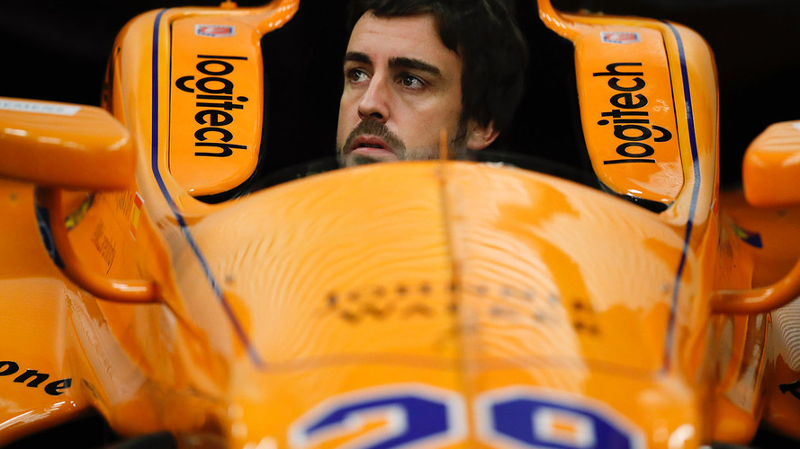 Fernando Alonso test Indianapolis 2017