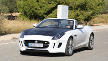 Jagaur F-Type prototype with possible four-cylinder engine 12.11.2013
