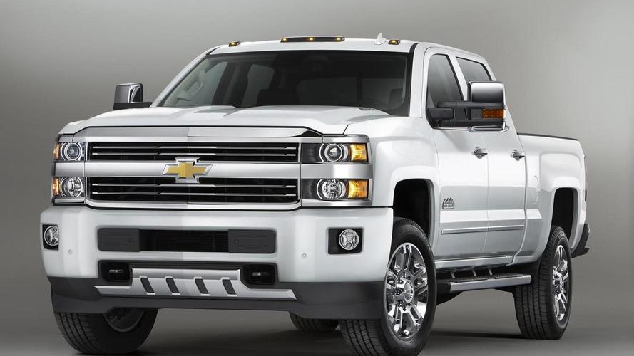 Chevrolet unveils more upscale 2015 Silverado High Country HD [videos]