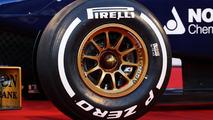 Pirelli tire on Scuderia Toro Rosso STR8 04.02.2013 Jerez Spain