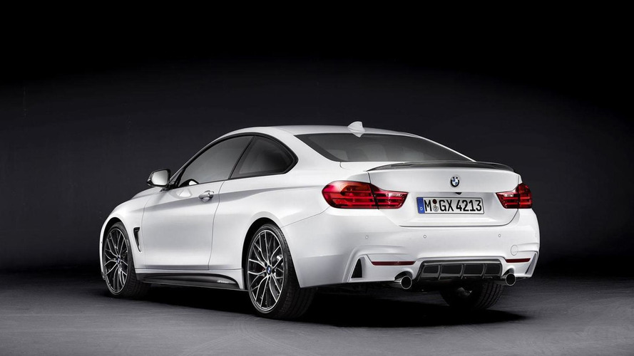 BMW 4-Series Coupe with M Performance Parts headed to Frankfurt