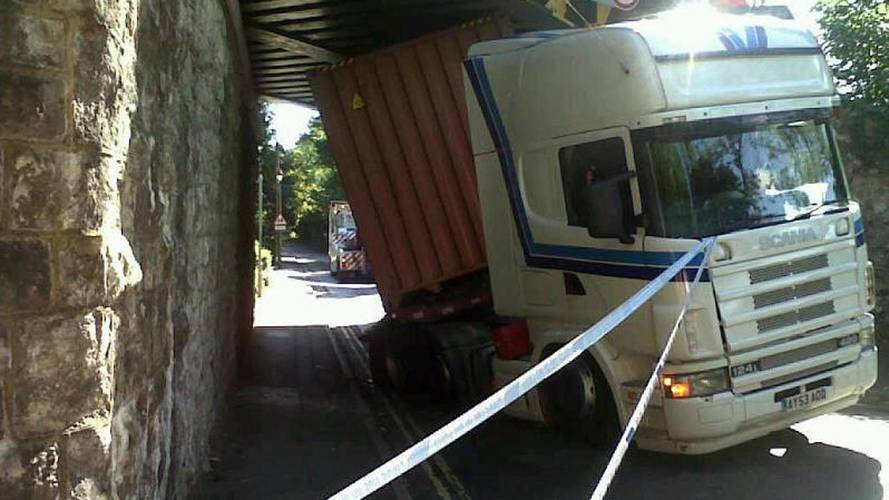 What the truck?! Lorries hit rail bridges five times a day