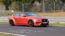 Jaguar XE SV Proejct 8 Nurburgring Spy Photos