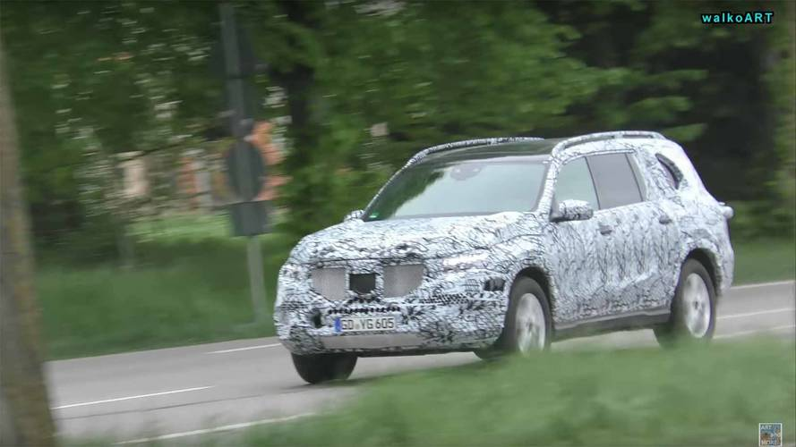 Future Mercedes GLB, GLS, EQ C Spied Testing In Germany
