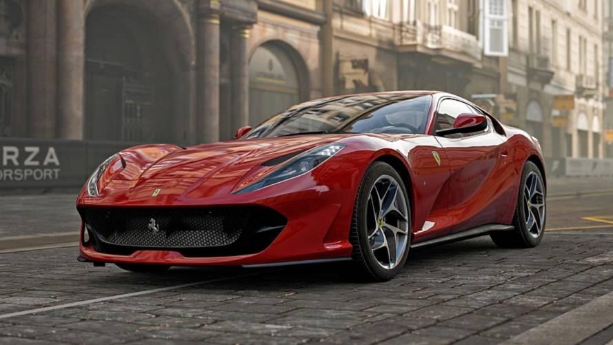Forza Motorsport 7 Update Adds Ferrari 812 Superfast, McLaren 720S