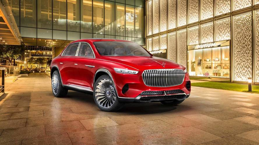 Maybach Vision Ultimate Luxury Bizarrely Blends SUV And Sedan
