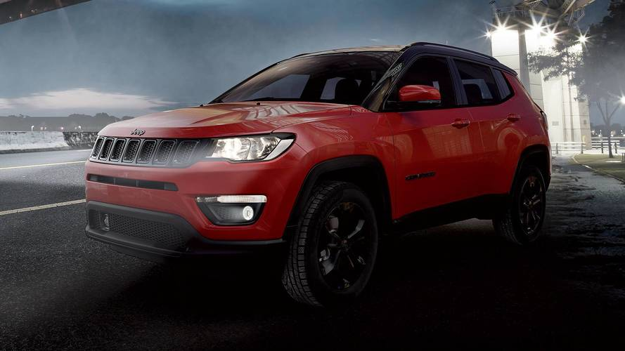 Jeep Compass Night Eagle, grinta in stile dark