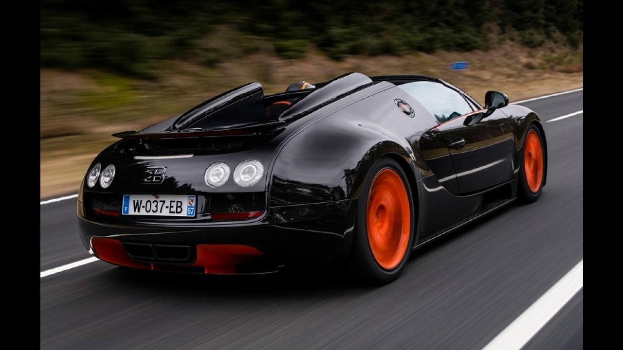 Encalhou! Bugatti faz