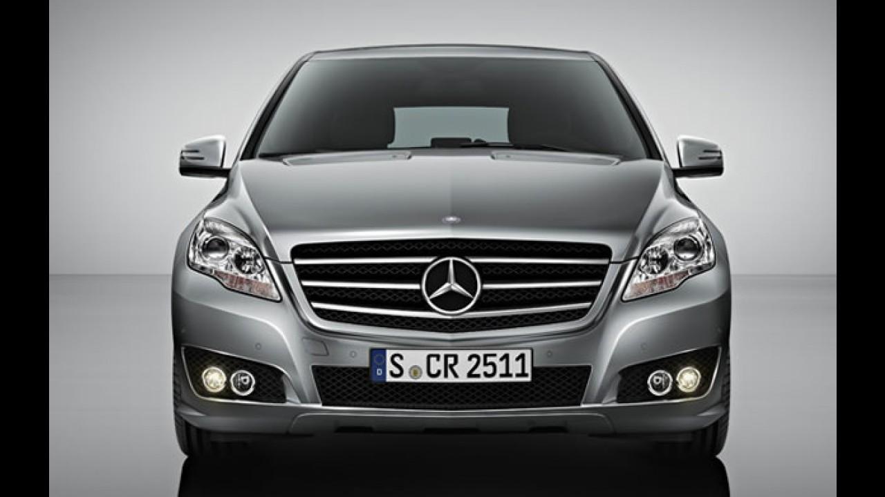 Mercedes-Benz Classe R 2011 muda para tentar aumentar vendas