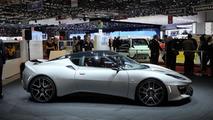 Lotus Evora 400 at 2015 Geneva Motor Show