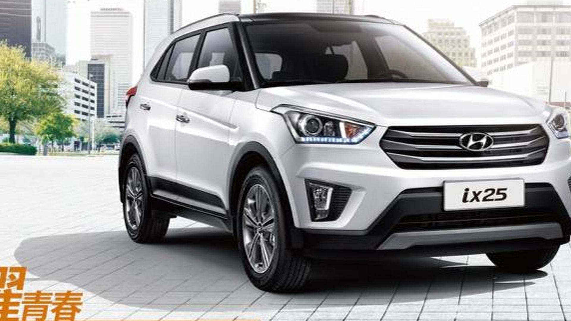 Hyundai Ix25 Heading To Europe And United States In 2017