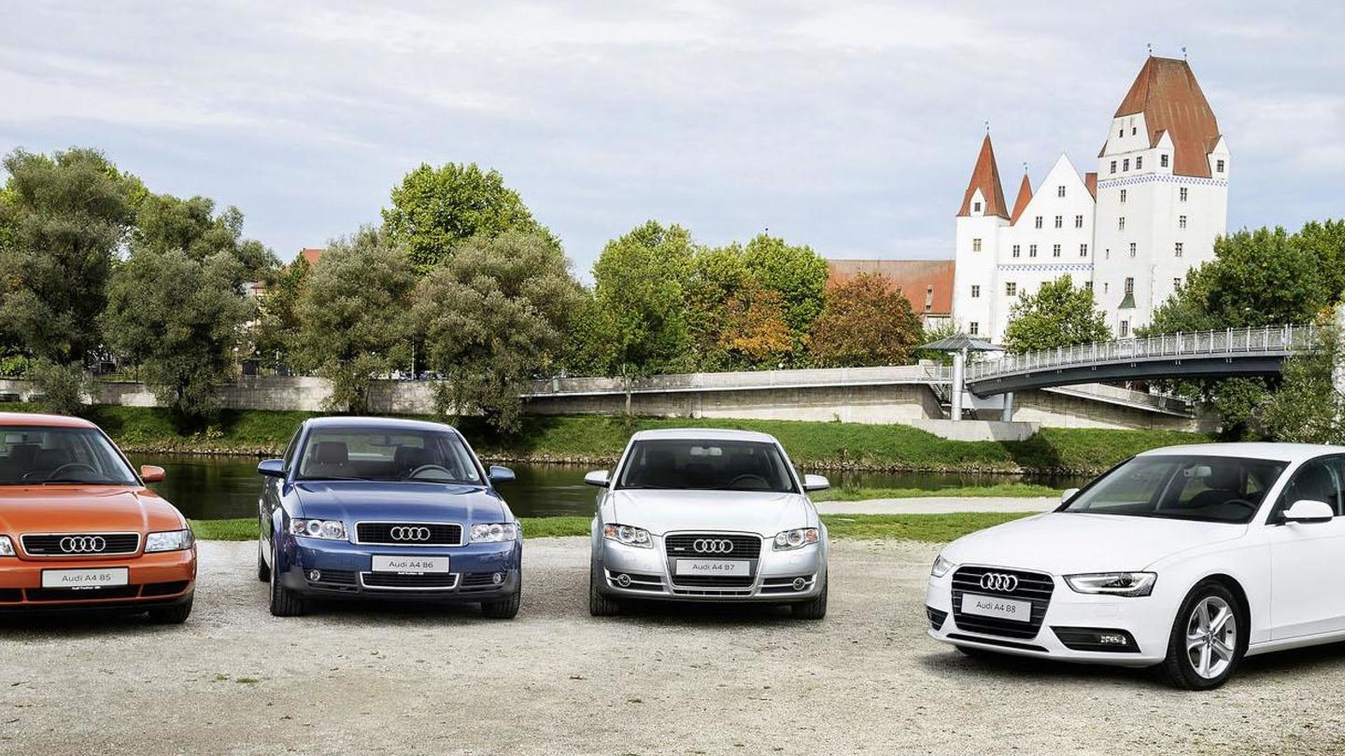 Audi A Celebrates Th Anniversary New Model Confirmed For - All audi a models