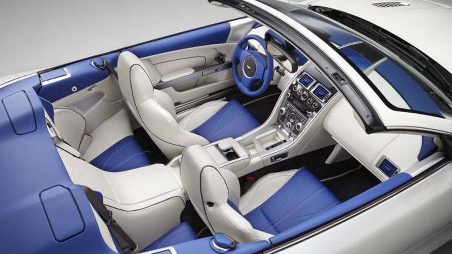 Aston Martin DB9 Volante Morning Frost revealed