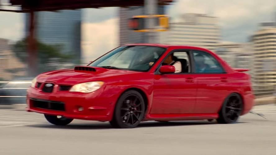Baby Driver Star Enjoys Snowy Donuts In His Subaru WRX
