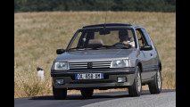 Peugeot storiche, la prova su strada