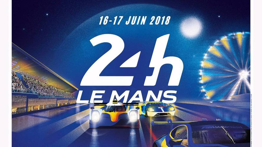l 39 affiche des 24 heures du mans 2018 d voil e. Black Bedroom Furniture Sets. Home Design Ideas