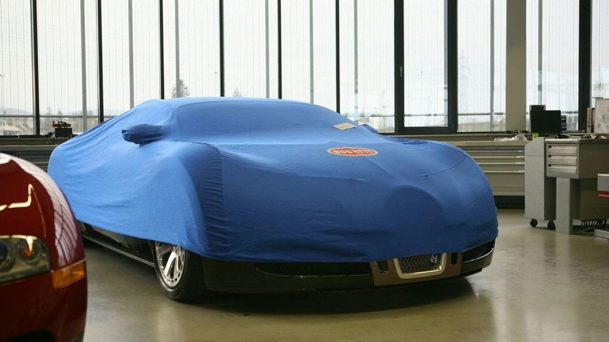 Bugatti Veyron New Special Edition Sneak Preview