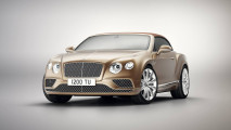 Bentley Continental GT Convertibile, la Timeless Series ferma il tempo