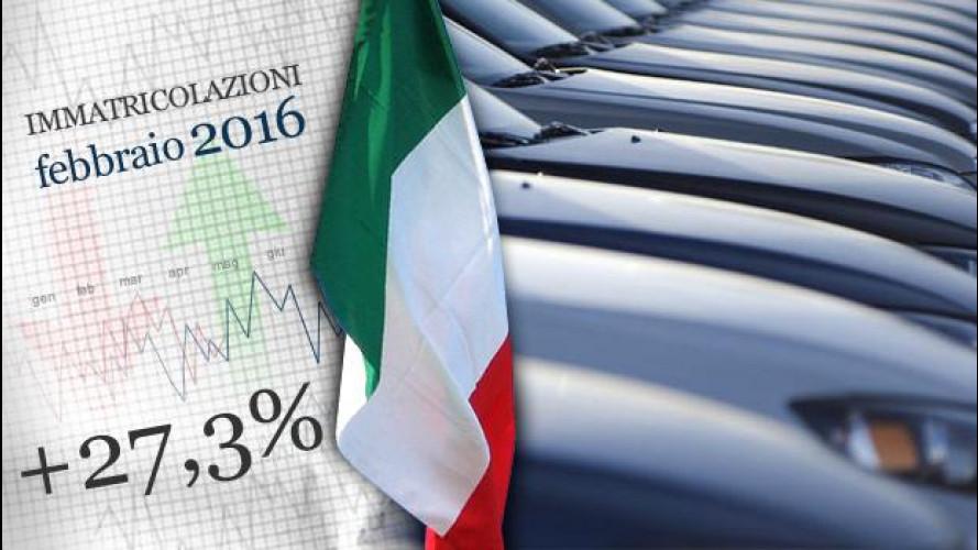 Mercato, l'auto in Italia ha messo il turbo