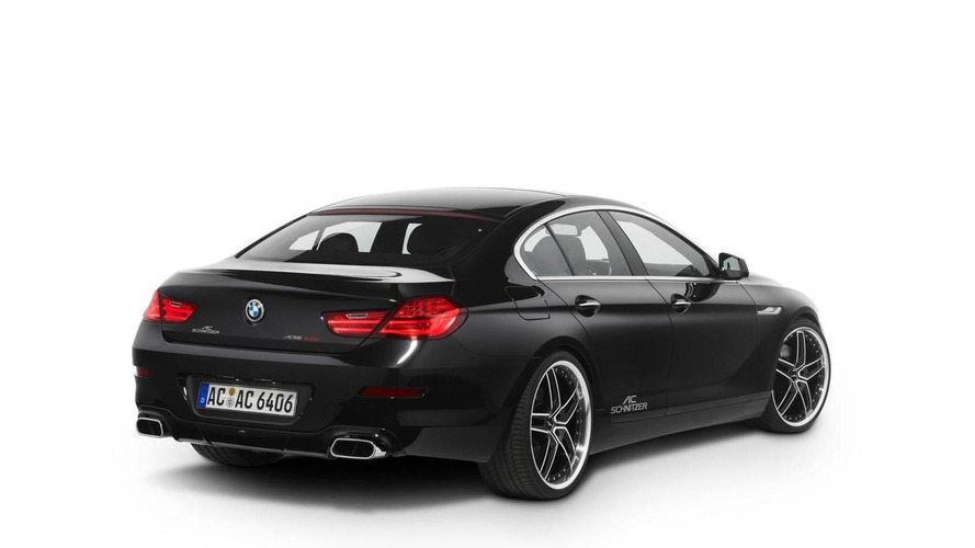 AC Schnitzer tunes the BMW 6-series Gran Coupe