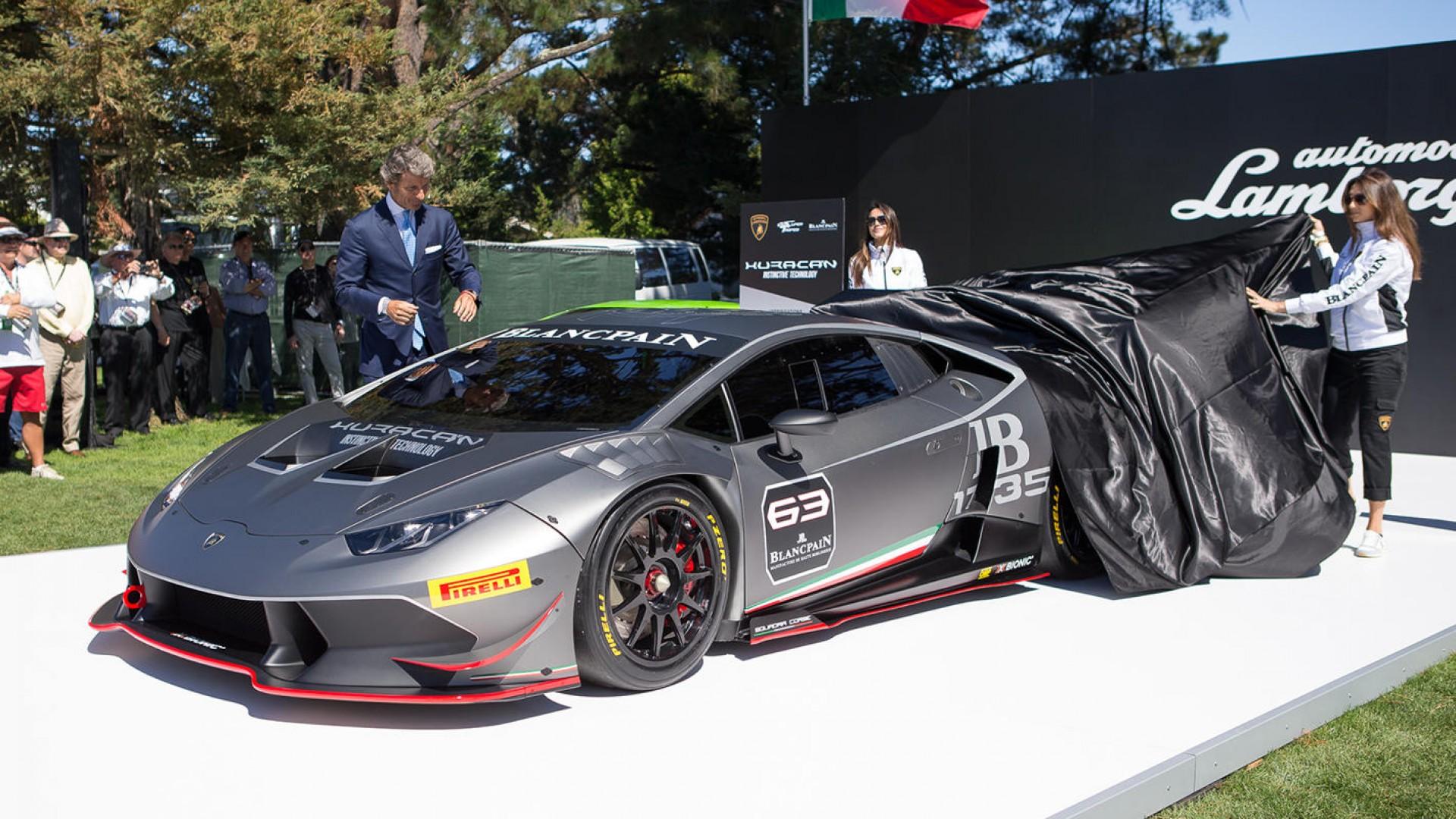 Фото | Трековая Lamborghini Huracan Super Trofeo