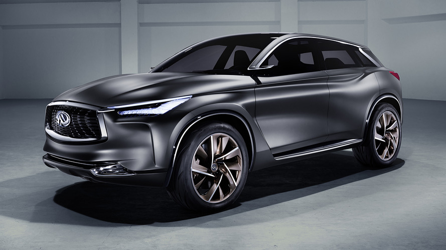 Near-production Infiniti QX50 concept may debut in Detroit