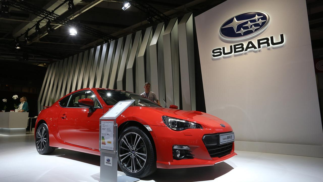 2016 Subaru BRZ Paris Otomobil Fuarı