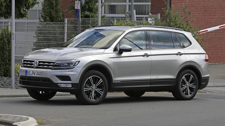 VW Tiguan LWB modelinin casus fotoğrafları yayınlandı